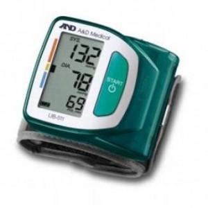 autotensiomètre au poignet UB511 vert and